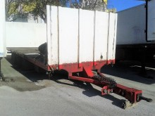 used Lecitrailer flatbed trailer