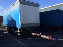 used Krone sliding tarp system tarp trailer