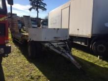 used ACTM heavy equipment transport trailer