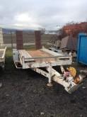 used Moiroud heavy equipment transport trailer