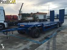 used De Filippi heavy equipment transport trailer