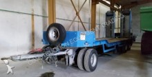 used Trax heavy equipment transport trailer