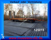 Goldhofer 3 Achs Tieflader mit gerader Ladefläche trailer