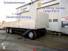 used Kögel dropside flatbed trailer