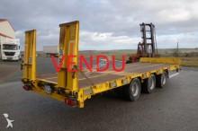 ACTM heavy equipment transport trailer