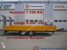 remorque Humbaur Spezial- Länge 6,50 m verst.Rampen Ladehöhe88cm