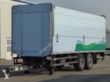 used Orten beverage delivery flatbed trailer