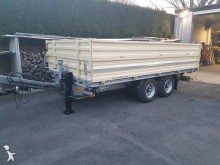used Humbaur construction dump trailer