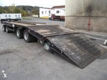 Louault heavy equipment transport trailer