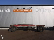 used Hüffermann hook lift trailer