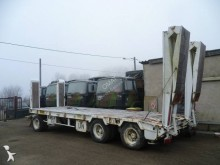 used ACTM heavy equipment transport trailer