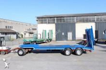 used Cometto heavy equipment transport trailer