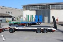 used CTC heavy equipment transport trailer