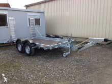 new Hubière heavy equipment transport trailer