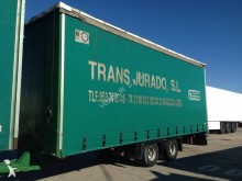 used Lecitrailer tarp trailer