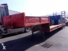 used Nicolas heavy equipment transport trailer