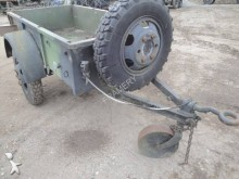 used Ackermann military trailer