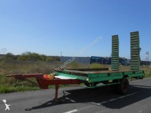 used Cazenave heavy equipment transport trailer