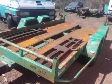 used Moiroud heavy equipment transport trailer