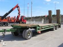 used Langendorf heavy equipment transport trailer