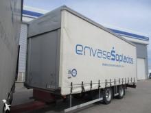 used Samro tarp trailer