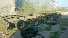 used Trax hook lift trailer