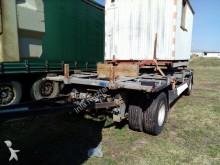 used Meusburger flatbed trailer