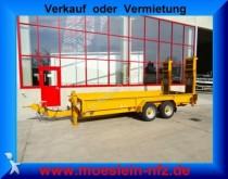 used Blomenröhr heavy equipment transport trailer