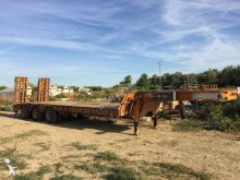 used Montenegro heavy equipment transport trailer