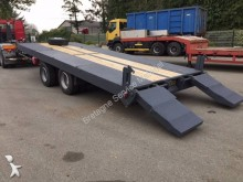 used Fournier heavy equipment transport trailer
