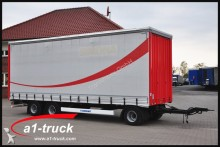 used Krone tarp trailer