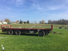 used Samro flatbed trailer