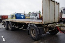used straw carrier flatbed trailer