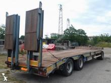used FGM heavy equipment transport trailer