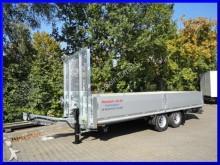 Moeslein Tandem Pritschenanhänger mit Gitteraufsatz trailer