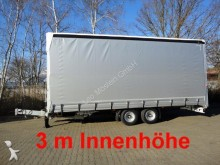Moeslein Tandem Schiebeplanenanhänger, 3 m Innenhöhe trailer