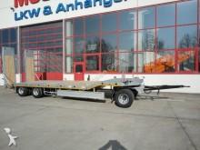 Moeslein 3 Achs Tieflader Neufahrzeug, Feuerverzinkt trailer