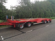 used Nooteboom heavy equipment transport trailer