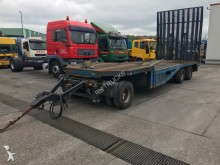 used Floor heavy equipment transport trailer