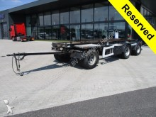used Floor container trailer