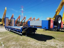 used Invepe heavy equipment transport trailer