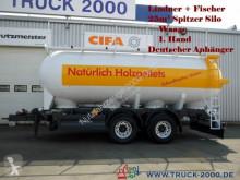 Spitzer Spitzer 25m³ Silo für Pellets Staub-Riesel-Waage trailer