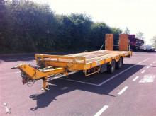 used Verem heavy equipment transport trailer