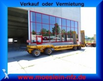 used Moeslein heavy equipment transport trailer