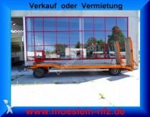 Goldhofer 2 Achs Tiefladeranhänger trailer