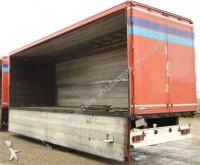 used Ackermann beverage delivery flatbed trailer