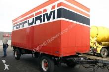 used Kässbohrer box trailer