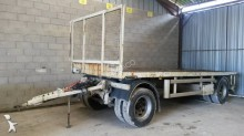 used Louault flatbed trailer