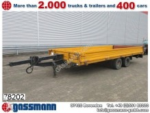 used Langendorf dropside flatbed trailer