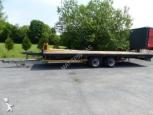 used Trouillet flatbed trailer